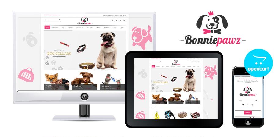 Bonnie Pawz OpenCart eCommerce