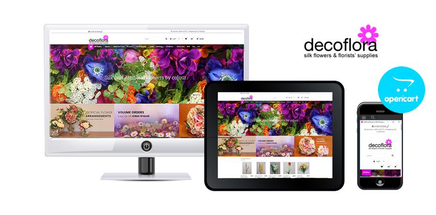 DecoFlora OpenCart Ecommerce