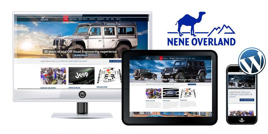 Nene Overland Wordpress