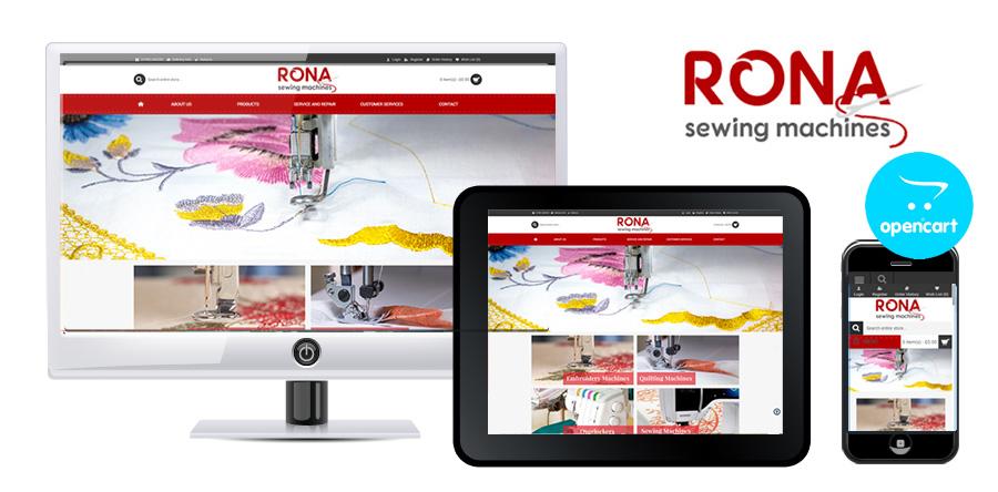 Rona Sewing Machines OpenCart